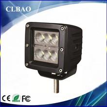 4'' NEW 18w led working light for car truck,off road 4x4 jeep, led work light for atv utv suv factory price