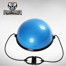 58 cm diamètre PVC Balance Bosu Ball fabricant