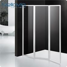 Chinese manufacturer glass folding screen shower in Jiaxing 6593