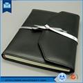 Escritório de alimentação de folhas soltas de couro caderno do j