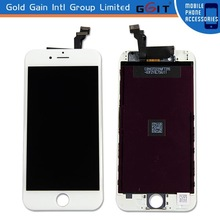 Full completely lcd screen digitizer for iPhone 6 lcd replacement, original lcd touch screen for iPhone 6 white color