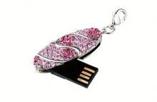 New design 8 gb heart-shaped diamond Jewelry USB Flash Drive
