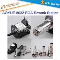 Free shipping hot sell AOYUE 8032 BGA Rework Station 220V Portable Removable BGA Rework Solder Station Hot Air Gun Welding tools