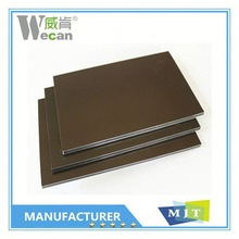 Wall cladding panel PE/PVDF refrigerated panels for walls 2.5-5mm thickness