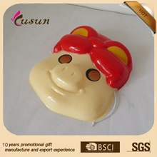 Promotional PVC mask/custom OEM PVC mask/3D embossed PVC mask