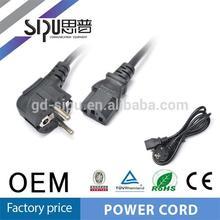 SIPU high quality EU h05vv-f 3g1.5mm2 power cords for pc