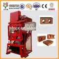ecológico de los productos de pavimentación bloque que hace la máquina y el tipo de arcilla de ladrillo prima material de arcilla de ladrillo pavimentadora