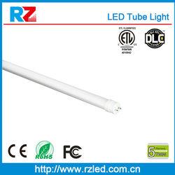 High efficiency 900-2300lm CT8 nylon feet tube /panty hose tube /nylon tube 9W to 22W with UL,Rohs,CE