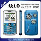SAMI 3 sim cards mobile phone TV Q10 mobile phones
