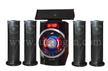 Home theater music system 5.1 multimedia speaker system