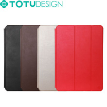 TOTU Wholesale Multi Color Smart Tablet PU Leather Case for iPad Air