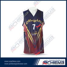 customized Australia basketball league team wear/club tops