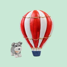 Fresh Design Dog and Fire Balloon Coin Holder