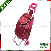 steel luggage cart chrome plated shopping cart austrilian shopping tr