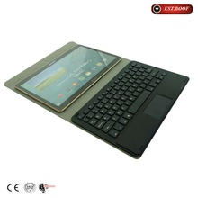 2015 OEM colorful design 10.1 tablet leather case with keyboard