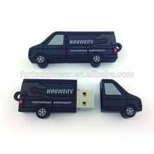 promotional truck shaped usb flash drive Hot sale 4gb usb storage device