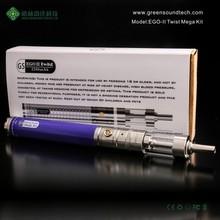 2015 E Cigarette China Dry Herb Vaporizer Vape Pen Smoking Pipe 2200mah Ego mega Kit