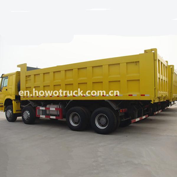 Sinotruk Howo Dump Truck 8x4