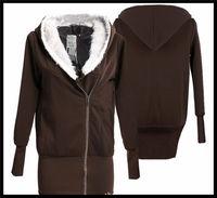 hot sale cheap fashion life wear thick women hooded long sweatshirt