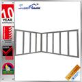 as2047 padrão dobradiças de alumínio de dobramento portas de correr