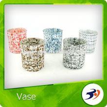 Wholesale Glass Vase Color Mosaic Different Types Glass Vase