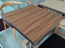 foodcourt dining MDF wooden table top