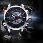 WEIDE Analog digital mens luxury watch and clock 30 meters waterproof sport watch