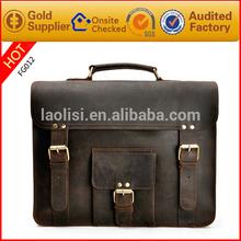 Alibaba italian leather bag laptop for men