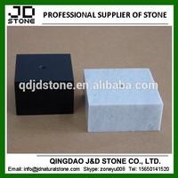 black trophy base/ white marble bases/ trophy pedestal