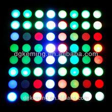5mm 8x8 rgb led matrix display, 60*60 matrix full color dot matrix led