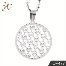 OEM Unique Design Pendant Alphabets Designs