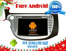Pure android 4.4 car stereo For Honda fit (2009-2011) RDS ,GPS,WIFI,3G,support OBD,support TPMS
