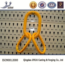 16-8 17 T working load yellow painted high strength certified master link assembly