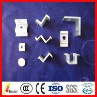 Customized latest black aluminum extrusion profile/shell