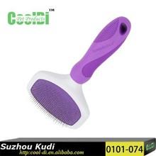 2015 new pet grooming brush/pet slicker brush 0101-074