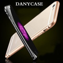 OEM for iphone 6 tpu case +aluminum transparent phone case,for iphone case wholesale