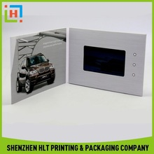 """Chinese Factory Custom 7"""" Video LCD Card"""