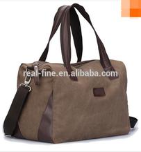 New 2015 High Quality Men's Travel Bags Solid Zipper Men Canvas Bag Travel Duffle Bag Bolsa Large Capacity Clutch Tote