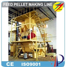 Animal Feed Pellet Production Line For Chicken Fish Cattle Food