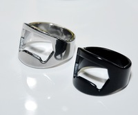 stainless steel ring can bottle opener