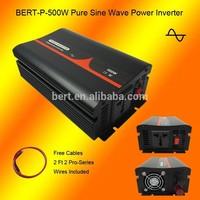 High Quality 12V/24VDC to 110V/220VAC 500W Pure Sine Wave Power Inverter Used for Small Fridge on Motor Homes
