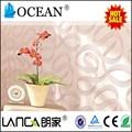 Personalizado removível design moderno rosa oriental papel de parede para interior