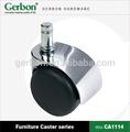 diámetro 50mm actividad de hierro muebles caster ruedas