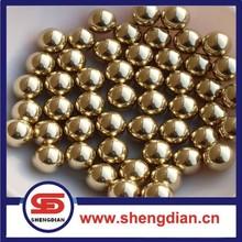 copper/ gold/ tin/ zinc plated soft carbon steel ball