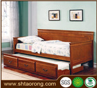 Solid wooden fold sofa bed