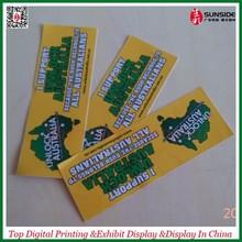 Low price UV print Sticker Vinyl
