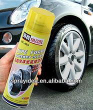 high quality SP-655 tyre foamy spray with polish
