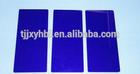 blue decorative glass block
