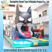 popular batman mask inflatable obstacle bouncer batman toys