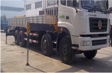 Hot sale!!! 12 ton hydraulic knuckle boom mobile truck mounted crane for Latin America